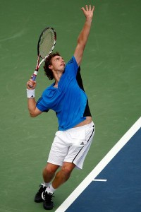 Latvian player Ernests Gulbis